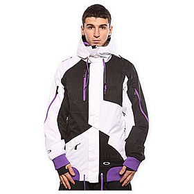 Куртка Oakley Preferred Jacket White/Black Tracks