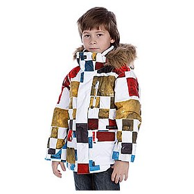 Куртка детская Quiksilver Shift Kids Printed Jkt Black Check